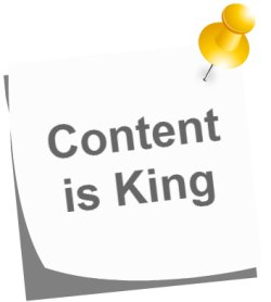 SEO Tip - Quality Content is King